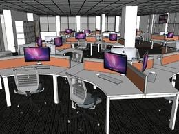 Create a sketchup 3D model interior or exterior