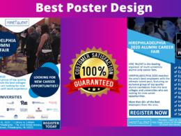 Design your flyer, Posters or Leaflet