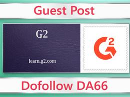Guest post on G2 - learn.g2.com - DA66