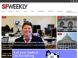 Guest post on Sfweekly.com - Sfweekly news website – DA 75