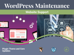 Provide maintenance for your WordPress website
