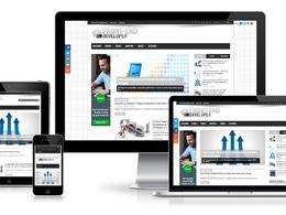 Create professional, responsive wordpress website with Free Logo