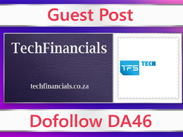 Guest post on TechFinancials - techfinancials.co.za - DA46