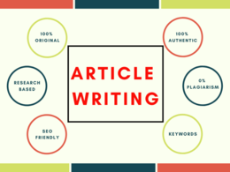 Write Creative Article for 500 Words