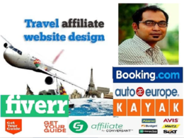 Create best travel affiliate website to make passive income