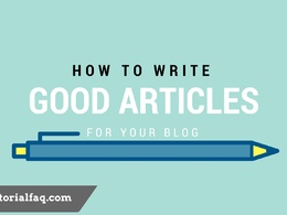 Write a 500 words article on any niche