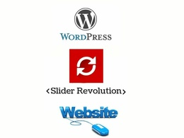 Design responsive slider revolution.