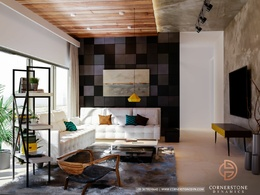 Make photorealistic 3d  Interior image