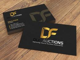 Do uv spot and gold foil business card design