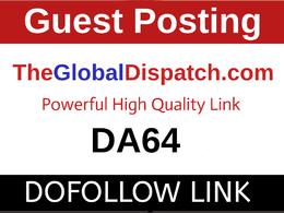 Guest Post on Theglobaldispatch.com, Theglobaldispatch