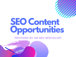 Find SEO content opportunities to improve & build content