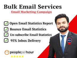 Send 50,000 Bulk Emails (Email marketing, Email blast)