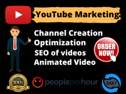 Create, optimize your YouTube Channel and SEO of videos