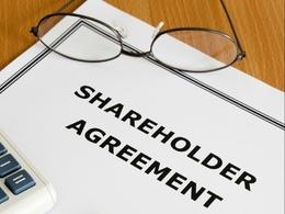 Write a shareholders agreement