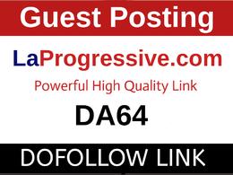 Guest Post on Laprogressive.com - Laprogressive