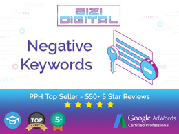 Identify Negative keywords for your adwords account & post them