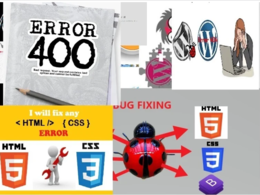 Fixed any wordpress errors or issues