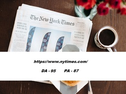 Guest Psot on Nytimes.com with Dofollow Backlink