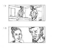5x storyboard frames (shooting/sequential)
