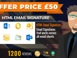 Email signature in HTML