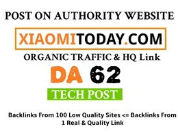 Technology Guest Post on xiaomitoday.com – xiaomitoday Dofollow
