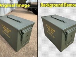 Remove Background from Photos and edit 20 images of all type