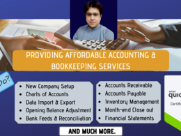 Do accounting & bookkeeping in Quickbooks & Excel