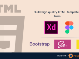 Convert one Adobe XD page to HTML
