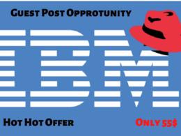 Publish Dofollow guest post on IBM, IBM.COM DA 98 PA 93