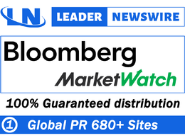 Send your press release to 680 sites,Bloomberg,MarketWatch.