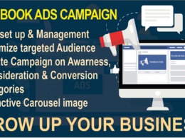 Create and setup Facebook ads campaigns for your business