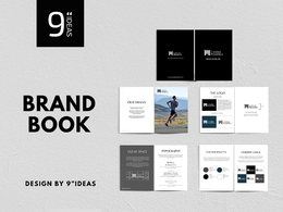 Professional brandbook, brand guidelines, brand guide