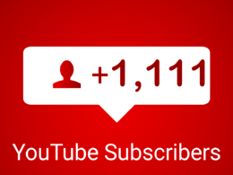Add 1111 real and active subscribers to your YouTube channel