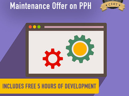 The best monthly website & server maintenance offer on PPH