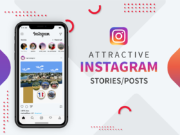 Design beautiful Instagram stories posts for your business