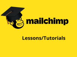 1 hour MailChimp Lesson/Tutorial