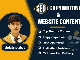 Provide 500 words of SEO website content or copywriting service