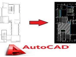 Redraw 2d architectural drawing from any visual format