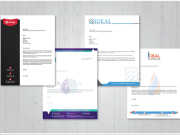 Design Professional/Creative letterhead and Business Invoices