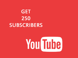 Give you 300 subscribers on your Youtube channel