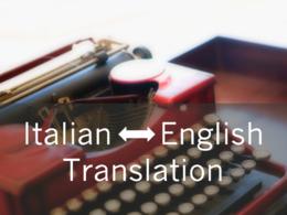 Translate English/Italian text (500 words)