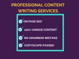 Write or rewrite a 500 word SEO post for your blog or website