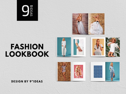 Bespoke fashion lookbook, catalogue, style guide