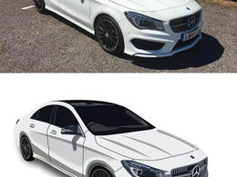 Create stunning illustration of your car or any vehicles