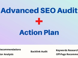 Do advanced SEO audit and performance check up