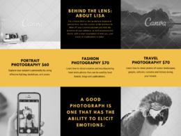 Create and unique  design brochure