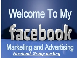 Do 60 UK facebook Group post and share to millions of people