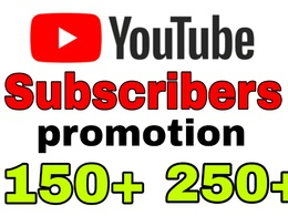 Guarantee 150+ Genuine Real Subscribers for your YouTube Account