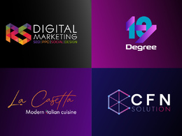 Design your dream LOGO with unlimited Revisions.