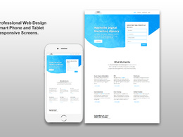 Design Wordpress Website and Mobile App